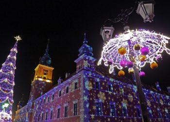 Рождество в Варшаве — праздник света и чудеса Коперника