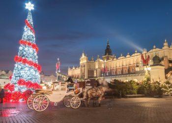 Шарм новогоднего Кракова
