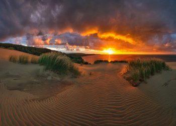 Piękne plaże Połągi i Mierzeja Kurońska